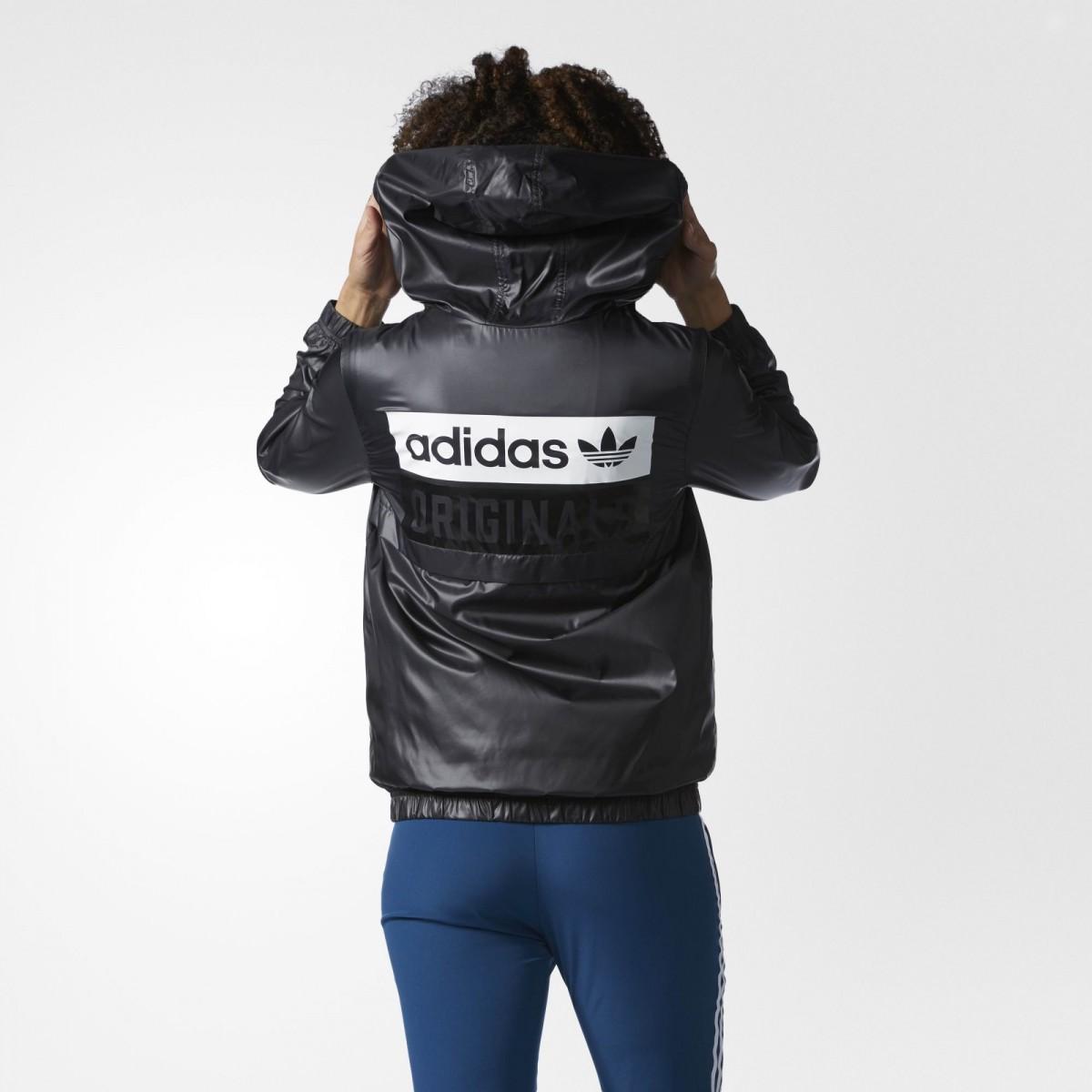 giacca a vento adidas donna