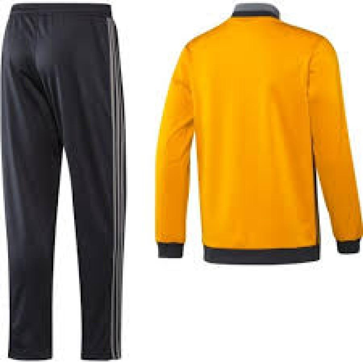 hot sale online be065 82b2d Adidas Tuta Juve Pes Arancio Nero - Tute - Uomo Quadrifoglio Sport ...